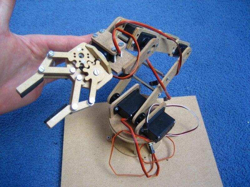 6-DOF Mini Robot Arm